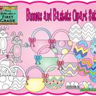 Bunnies and Baskets - Graphics for Commercial Use