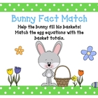 Bunny Addition Facts Activity