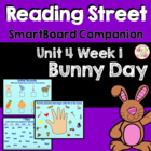 Bunny Day SmartBoard Companion Reading Street Kindergarten