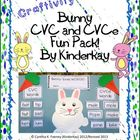 Bunny Draw and Cut CVC and CVCe Fun Pack