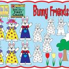 Bunny Friends - Graphics for Commercial Use