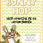 Bunny Hop FREEBIE: Skip Counting by 5's