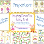 Bunny Trail Prepositions