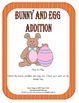 Bunny and Egg Math Addition Center Easter