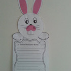 Bunny craft and prompts