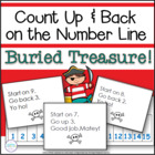 Buried Treasure: Pirate Game for Counting Up and Back on t