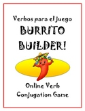 Burrito Builder Game - Verb List