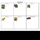 Bus Dismissal Chart