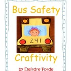 Bus Safety Craftivity
