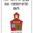 Bus Transportation Labels