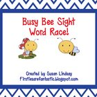 Busy Bee Sight Word Race