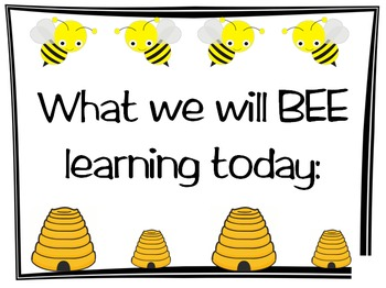Busy Buzzy Bee Classroom Bundle Pack