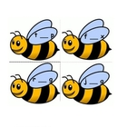 Busy Buzzy Bees- short vowel game
