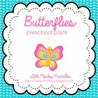 Butterflies Preschool Pack