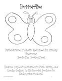 Butterflies:  Purposeful activities for Math, Writing, and