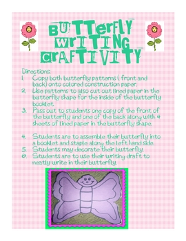 Butterfly Craftivity