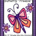 Butterfly Freebie...Craft and Activities