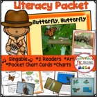 Butterfly Life Cycle - Butterfly, Butterfly Singable {Comm