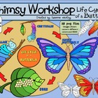 Butterfly Life Cycle Clip Art -  28 images - Whimsy Workshop
