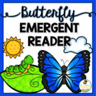 Butterfly Life Cycle Emergent Reader Printable Coloring Book