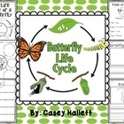 Butterfly Life Cycle {Informational Writing Packet}