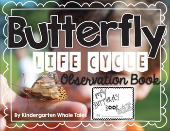Butterfly Life Cycle Observation Book