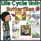 Butterfly Life Cycle Pack Including Observation Journal, L