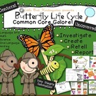 Butterfly Life Cycle Uncovered! Literacy &amp; Math Activities