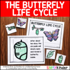 Butterfly Lifecycle Interactive Learning Journal