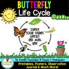Butterfly Lifecycle & More Literacy, Math, Sciece and SS C