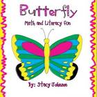 Butterfly Math and Literacy Fun