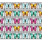 Butterfly Patterns - Matching & Sequencing for Pre-K or Ki