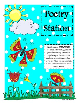 Butterfly Poetry Station