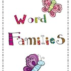 Butterfly Word Family Sort