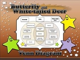 Life Cycles: Butterfly and White-tailed Deer Venn Diagram