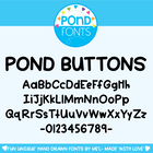 Buttons Font - Decorative Fonts for Teaching & Classrooms