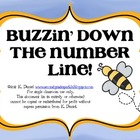 Buzzin&#039; Down the Number Line! {Craftivity, anchor charts, 