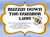 Buzzin' Down the Number Line! {Craftivity, anchor charts,