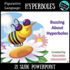 Buzzing About Hyperboles PowerPoint Lesson