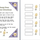Buzzy Bees: Place Value Match