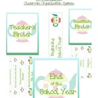 By the Binder Classroom Organization Mini Pack - Teapot