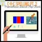 C-V-C Spelling Sorting Board PART 2   { Promethean Board A