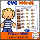 C-V-C Word Building Game-Farm Feathered Friends!