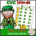 C-V-C Word Building Game-Lucky Roll & Read