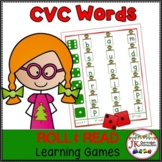 C-V-C Word Building Game-Santa's Workshop! {Common Core Co