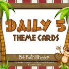 CAFE - Daily 5 Cards (Monkeys)