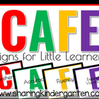CAFE Signs for Young Learners FREEBIE