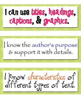 CAFE Strategy Posters - Upper Elementary