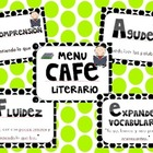 CAFE menu bilingue - en espanol / spanish CAFE menu
