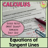 The Derivative and Tangent Line Problem